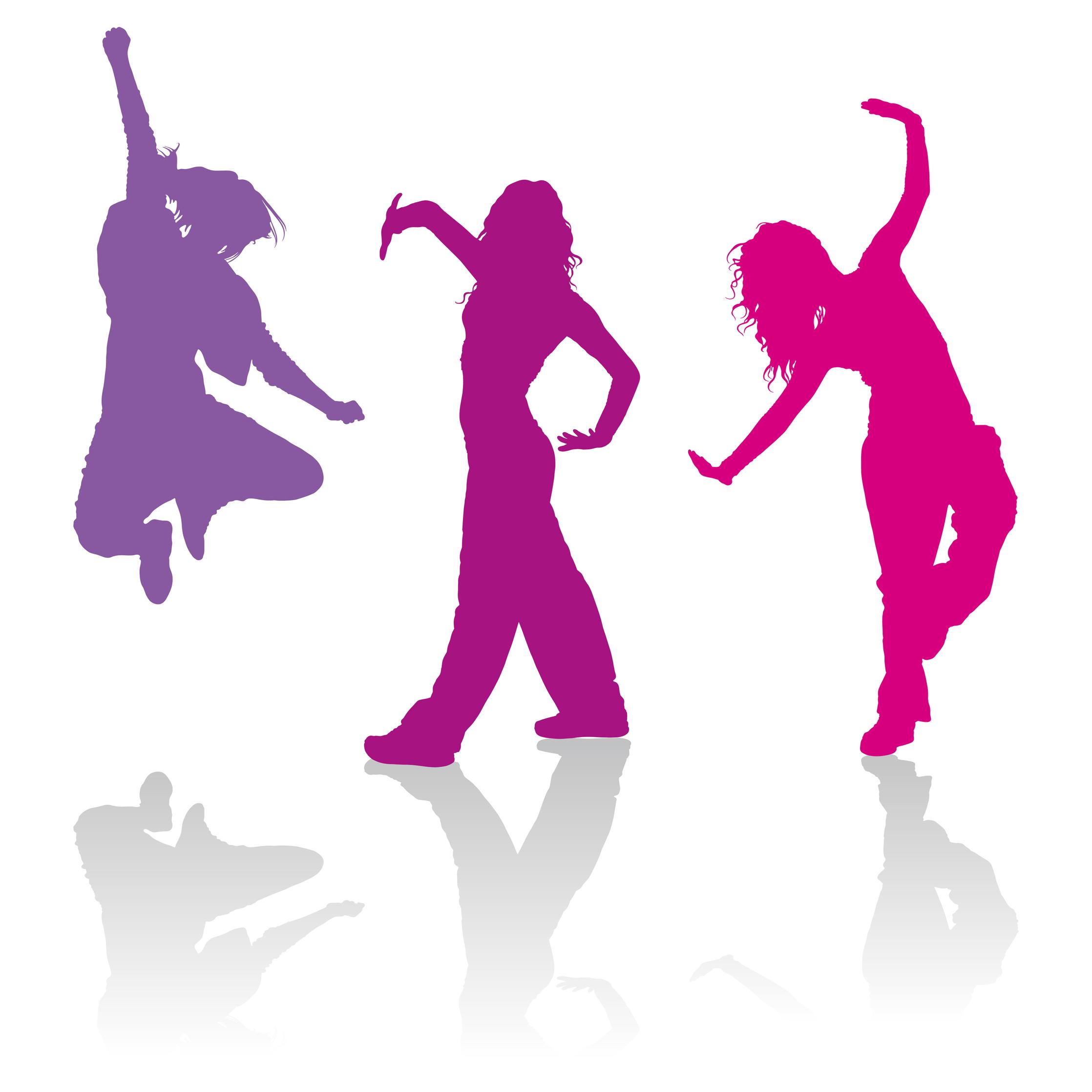 Bild 3 tanzende Figuren